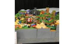 Super Nintendo World maquette