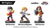Super Smash Bros 14 06 2015 amiibo septembre 2015 Mii Fighters