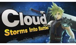 Super Smash Bros Cloud FF VII