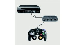 super smash bros manette gamecube adaptateur