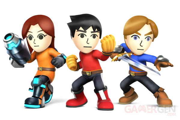 Super smash bros mii
