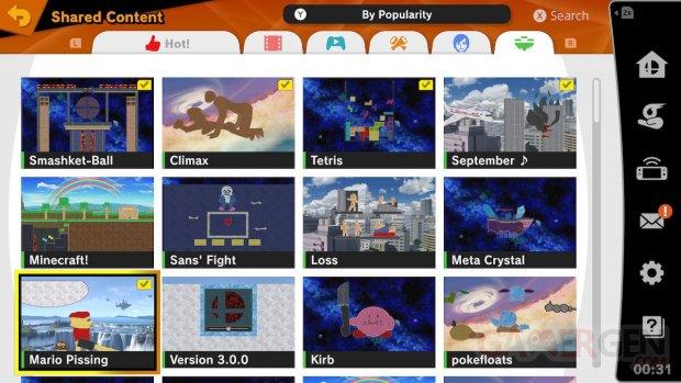 Super Smash Bros Ultimate Créateur de Stage