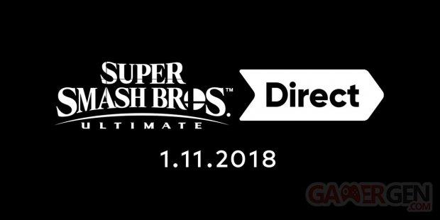 Super Smash Bros Ultimate Direct 30 10 2018