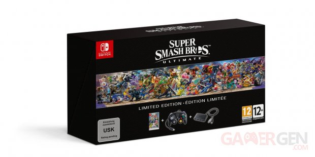 Super Smash Bros Ultimate édition limitée 08 08 2018