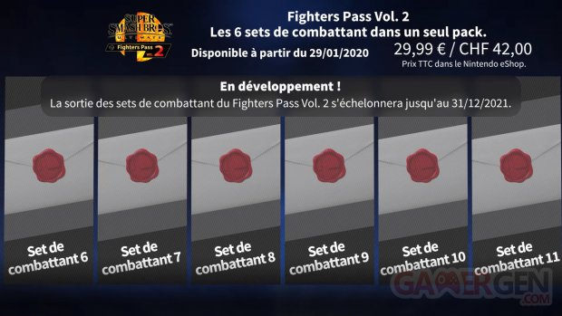 Super Smash Bros Ultimate Fighters Pass 2 16 01 2020