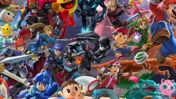 Super Smash Bros Ultimate fresque 17 04 2019