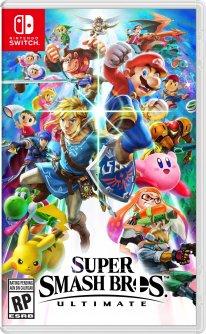 Super Smash Bros Ultimate Jaquette US