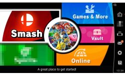 Super Smash Bros Ultimate menu