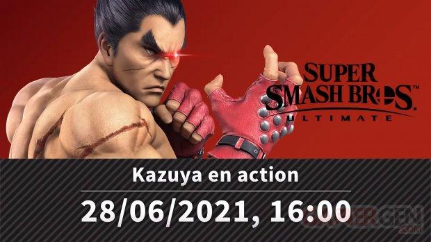 Super Smash Bros Ultimate présentation Kazuya 15 06 2021