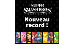 Super Smash Bros Ultimate record