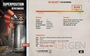 Superposition benchmark VR maximum Oculus