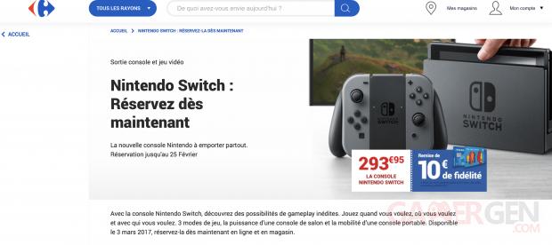 Switch Carrefour