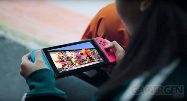 Switch console portable image