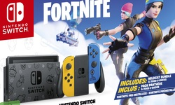 Switch Fortnite Nintendo Console Edition limitée Pack Bundle (5)