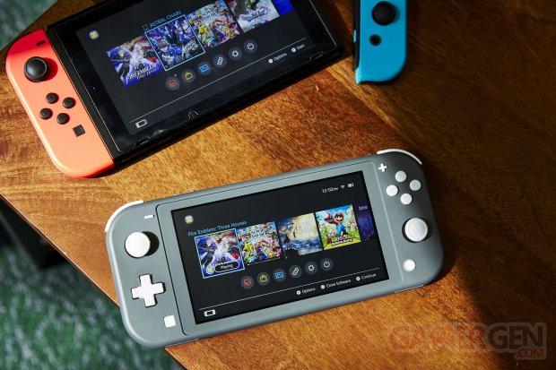 Switch Lite console image