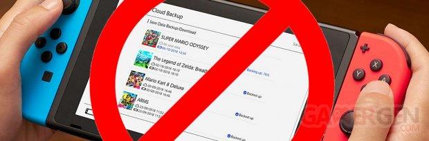Switch Stop interdit eshop image ban bloc banniere