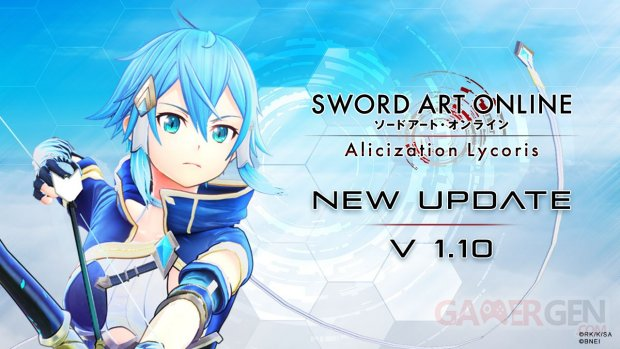 Sword Art Online Alicization Lycoris 01 11 10 2020