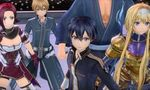 sword art online alicization lycoris plonge underworld bande annonce lancement