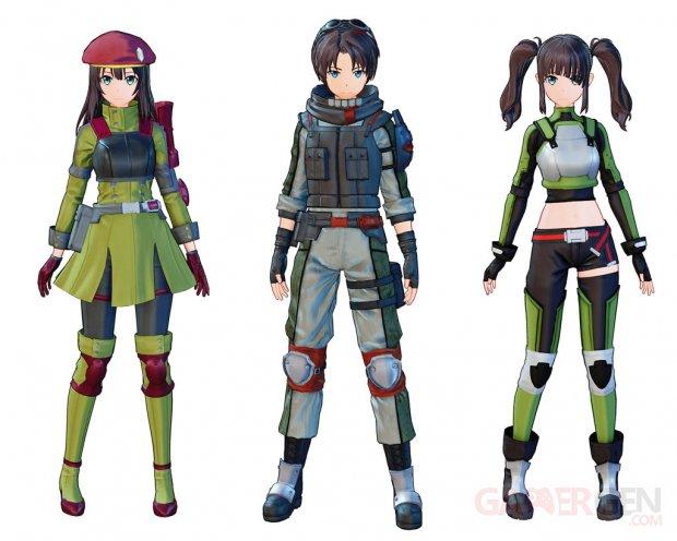Sword Art Online Fatal Bullet costumes 19 04 2019