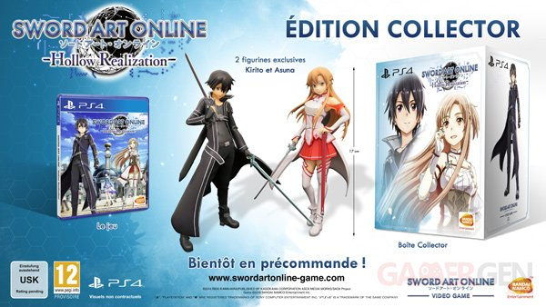 Sword Art Online Hollow Realization Collector EuropeFR