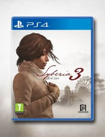 Syberia 3 Jaquette Cover Kate Walker PS4