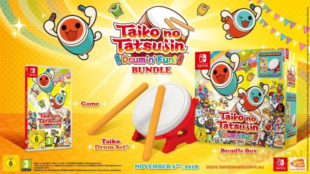 Taiko no Tatsujin Drum n Fun 14 09 2018