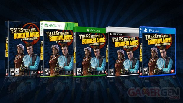 Tales of the Borderlands US physical release
