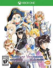 Tales of Vesperia Definitive Edition jaquette Xbox One 11 06 2018