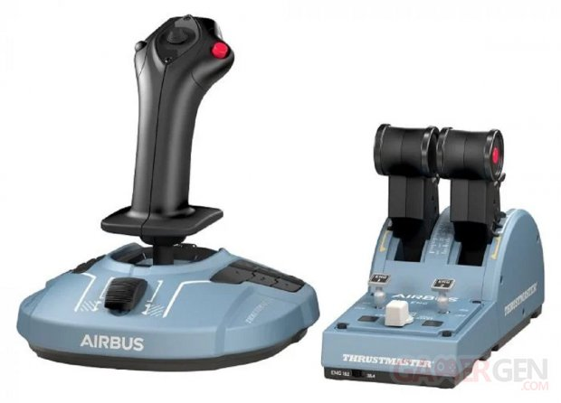 TCA Officer Pack Airbus Edition Thrustmaster joystick