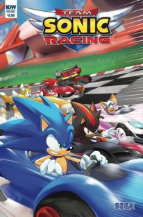 Team Sonic Racing comics