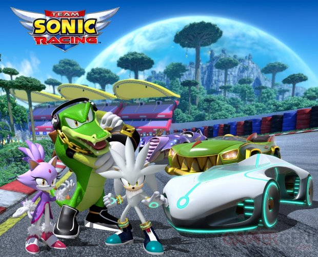 Team Sonic Racing Silver