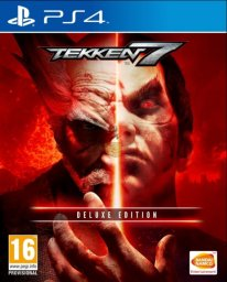 Tekken 7 cover jaquette PS4 Edition Deluxe