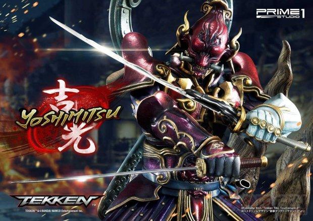 Tekken figurine statuette Prime 1 Studio Yoshimitsu 08 20 05 2019