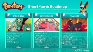 Temtem short term roadmap