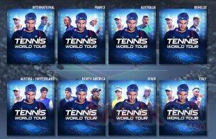 Tennis World Tour jaquettes