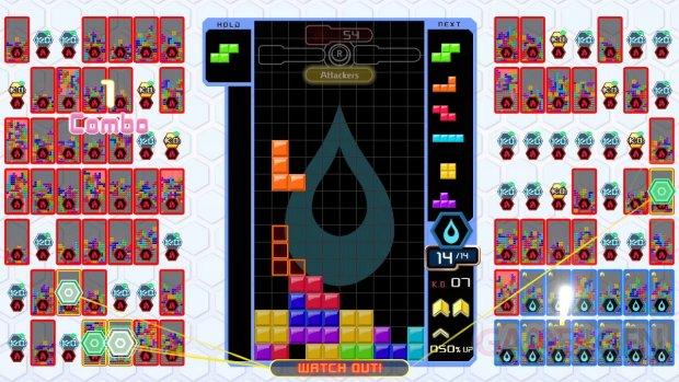 Tetris 99 Bataille par équipes 08 11 12 2019