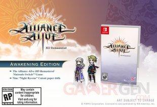 The Alliance Alive HD Remastered 11 03 2019 awakening edition 2