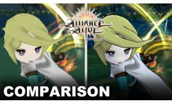 The Alliance Alive HD Remastered comparaison