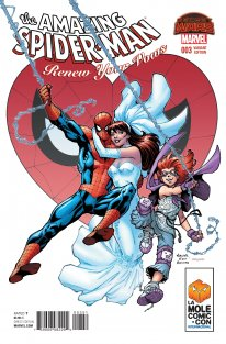 The Amazing Spider Man Renw Your Vows cover 3