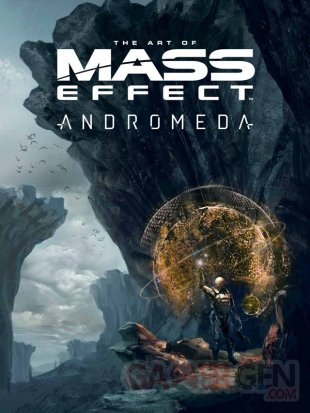 THE ART OF MASS EFFECT ANDROMEDA HARDCOVER