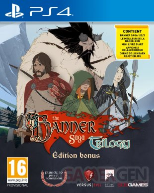 The Banner Saga Trilogy Bonus Edition jaquette (2)