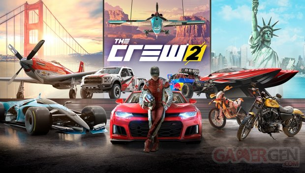 the crew 2 ubisoft d voile les configurations pc et. Black Bedroom Furniture Sets. Home Design Ideas