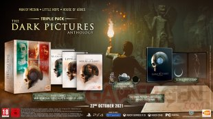 The Dark Pictures House of Ashes Anthology special edition