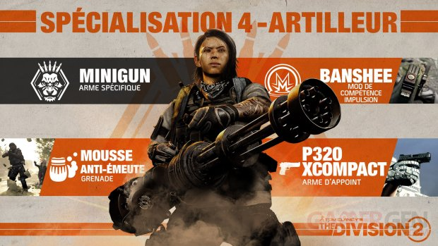 The Division 2 Artilleur 2