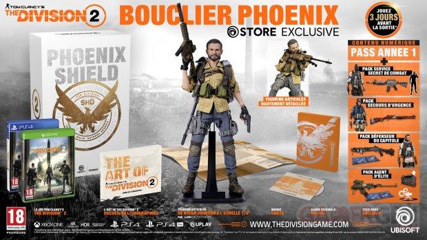 The Division 2 édition collector Bouclier Phoenix 21 08 2018