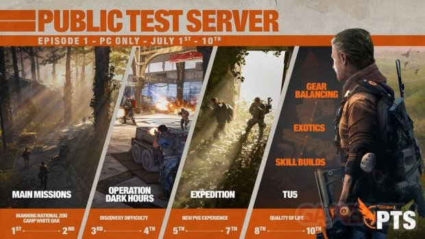 The Division 2 PTS Episode 1 02 07 2019