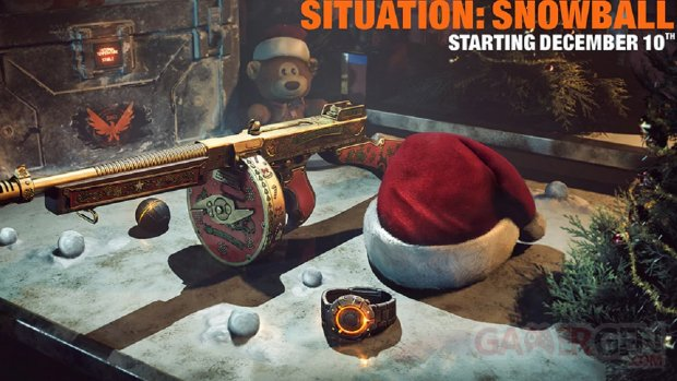 The Division 2 Situation Snowball