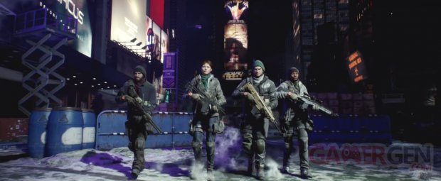 The Division head 2