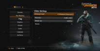 the division pc settings