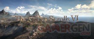 The Elder Scrolls 6 VI logo head banner teaser